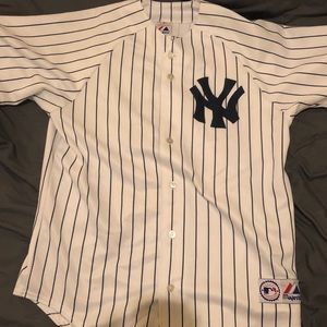 Real Derek Jeter Yankees Jersey